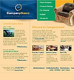 webdesign : furniture, customers, support