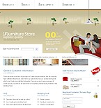 webdesign : tablewear, sofa, catalog