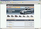 webdesign : track, road, BMW