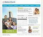 webdesign : Bible, choir, sermon