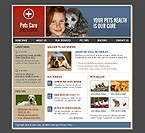 webdesign : veterinary, dishes, cleanup