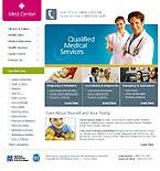 webdesign : nurse, oncology, tablet