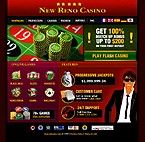 webdesign : casino, card, roulette