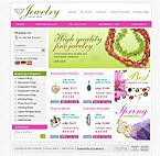 webdesign : jewelry, precious, brooch