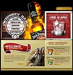 webdesign : malt, vintage, Irish