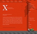 webdesign : webpage, journal, sportsman