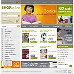 webdesign : shop, book, products