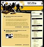 webdesign : DJ, biography, audio