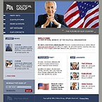 webdesign : flag, candidates, Democratic