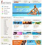 webdesign : guide, tourist, USA