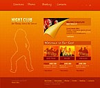 webdesign : dances, gallery, girls