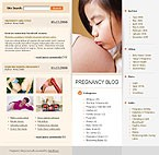 webdesign : events, baby, clothes