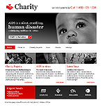 webdesign : donation, relief, hope