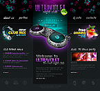 webdesign : club, interview, party