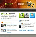 webdesign : microscope, research, articles