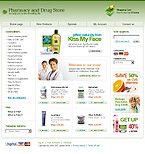 webdesign : store, prescription, pedicure