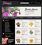 webdesign : shop, flowers, delivery