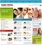 webdesign : portal, child, happiness