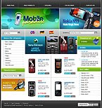 webdesign : phones, company, hi-tech
