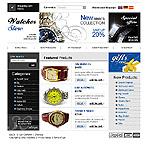 webdesign : fashion, Switzerland, incrustation