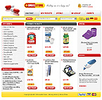 webdesign : medicaments, supplies, care
