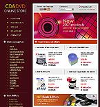 webdesign : store, CD, DVD-RW