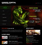 webdesign : shooting, gamer, rpg