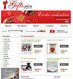 webdesign : heart, products, accessories