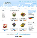webdesign : flower, catalog, delivery