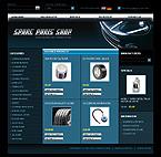 webdesign : engine, wheel, brakes