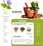 webdesign : blog, plant, kinds
