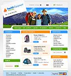 webdesign : tent, Alpinism, Sports