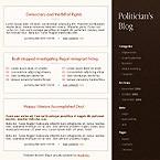 webdesign : senator, power, conservative