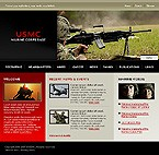 webdesign : weapon, war, victory