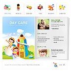 webdesign : kindergarten, mother, useful