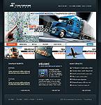 webdesign : trucking, rates, sea