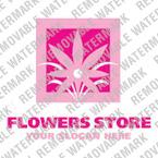 webdesign : flowers, slogan, picture