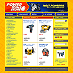 webdesign : industrial, cordless, rental