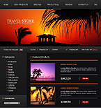 webdesign : tourist, products, reviews
