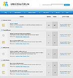 webdesign : members, support, universal