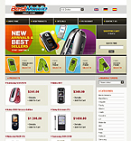 webdesign : mobile, cameras, shopping