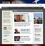 webdesign : portal, debates, election