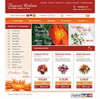 webdesign : online, shop, flowers
