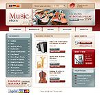 webdesign : organ, shop, guitar