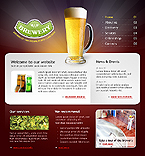 webdesign : hop, specials, drink