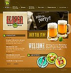 webdesign : beers, food, fresh