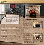 webdesign : fireplace, firebox, smoke