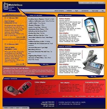 webdesign : Big, Screenshot 1759