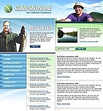 webdesign : fisherman, community, hook
