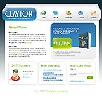 webdesign : clayton, industry, clients